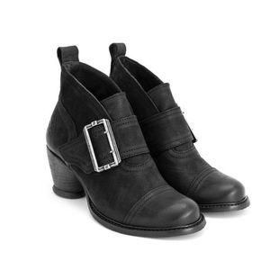 John Fluevog East End Porter ankle boots black